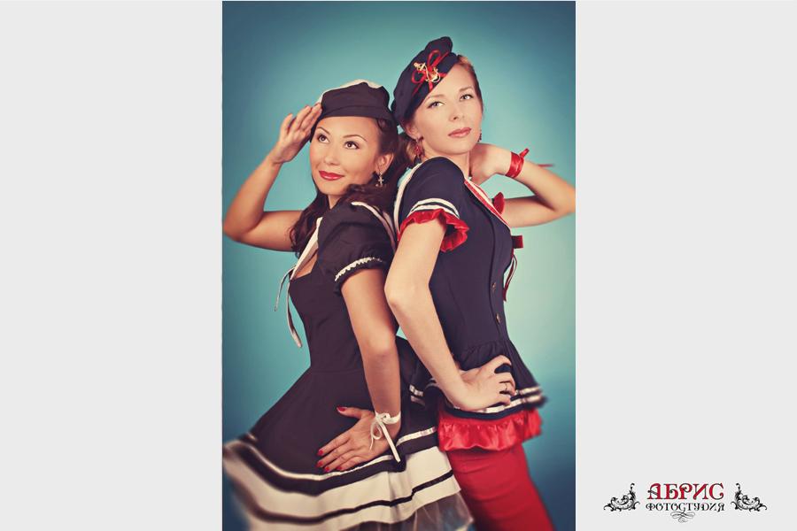 Пин-ап Кристина и Ольга!
