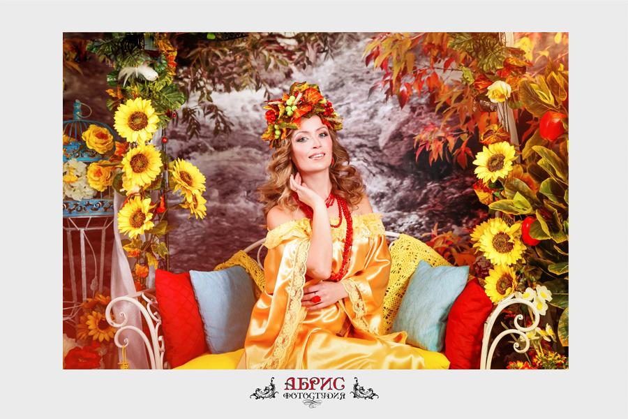 Незабываемая осень в нашей фотостудии!!!  Фотопроект » Королева Осени».